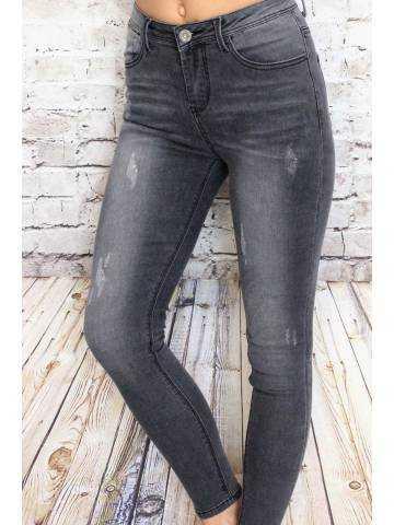 Mon jeans gris medium