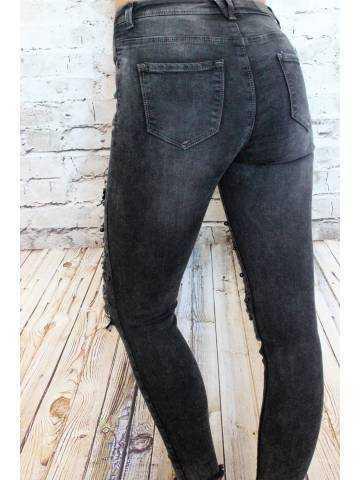 Jeans gris foncé
