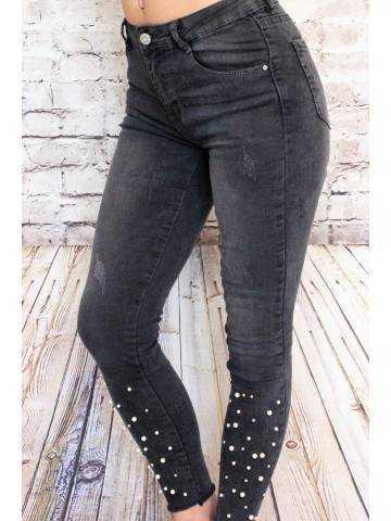 Mon jeans gris foncé