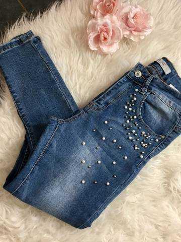 "Mon joli jeans ""perles"""
