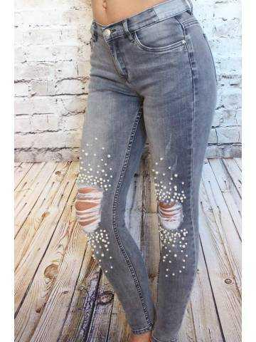 Mon jeans gris clair