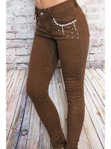 Mon Jeans camel