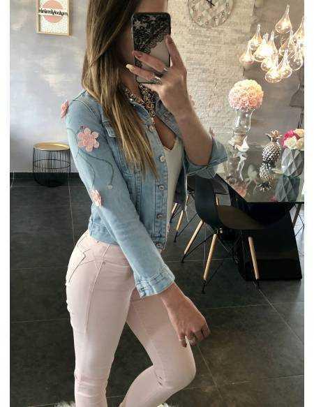 Ma jolie veste en jeans