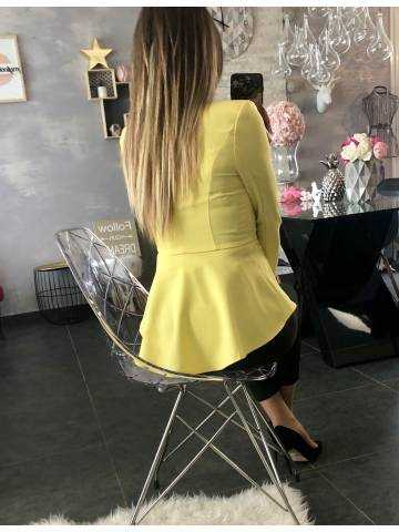 Mon blazer jaune