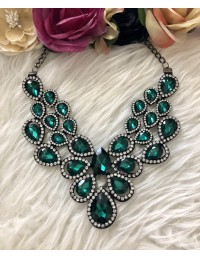 "Collier princesse ""so green"""