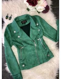 "Perfecto green""style daim"""