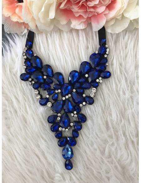 "Mon collier ""So blue"""