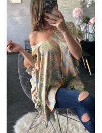 "Ma superbe blouse ample satinée ""cachemir """