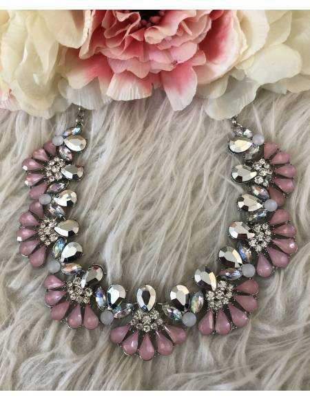 Collier pink chic