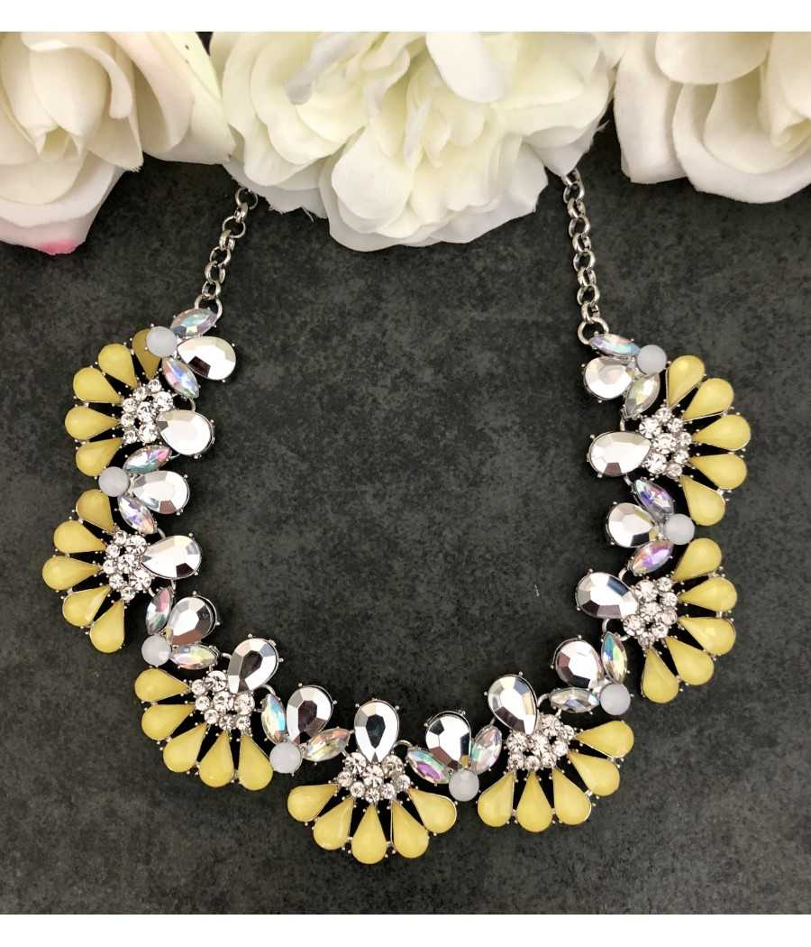 Collier yellow chic