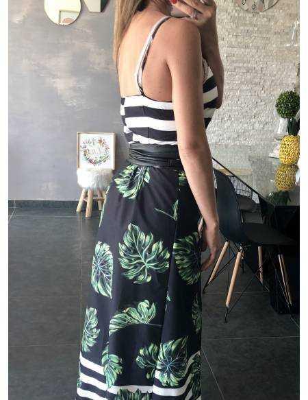 Ma superbe robe longue et imprimée