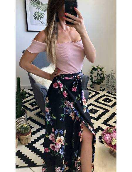 Ma jupe longue porte-feuille