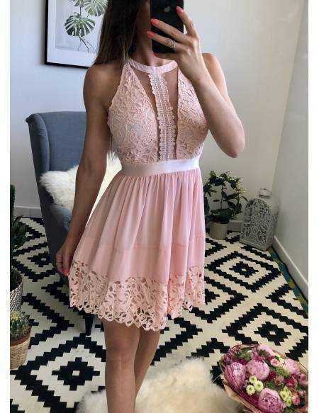 Ma superbe robe rose poudré