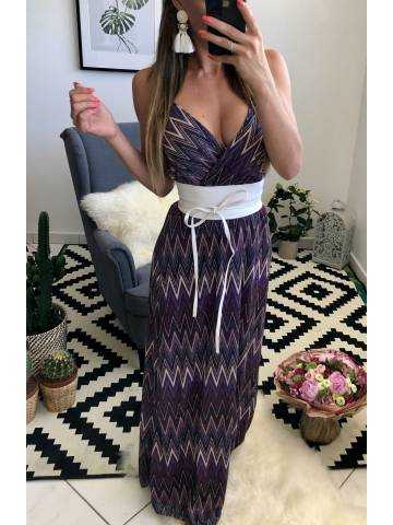 Ma superbe robe longue purple
