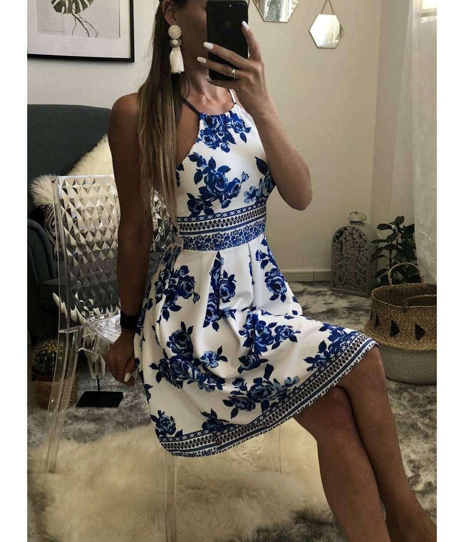 """Ma petite robe imprimé """"Blue"""""""