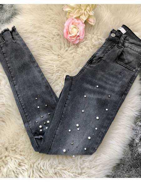 Mon new jeans gris
