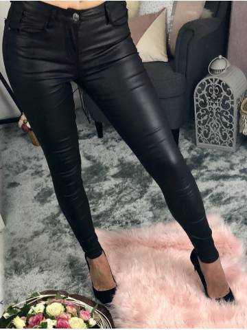 Mon jeans noir enduit