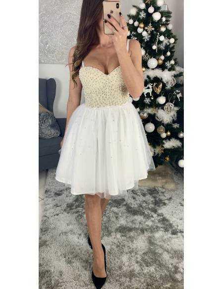 "Ma superbe robe white  ""princesse"""