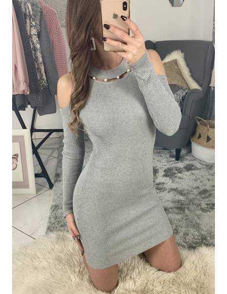 Ma jolie robe grise