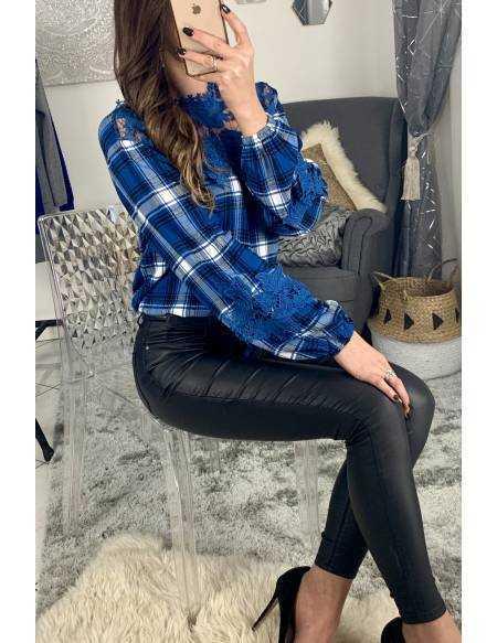 Ma blouse bleue