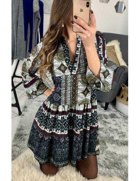 """Ma jolie robe ample """"imprimé ethnique"""""""