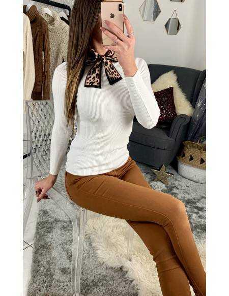 Mon joli pull blanc