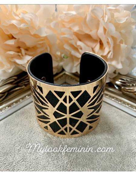 Mon joli bracelet black gold 2