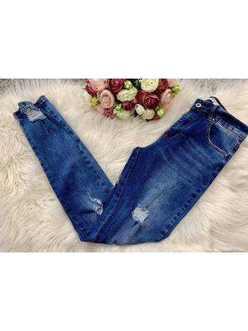Mon jeans destroy et délavé new