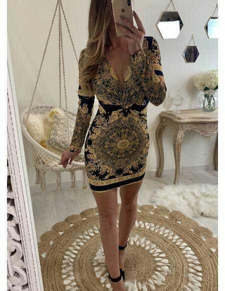Ma robe imprimée