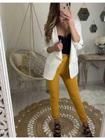 Mon pantalon moutarde