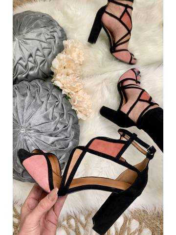 """Sandales à talon """"rose blush"""""""