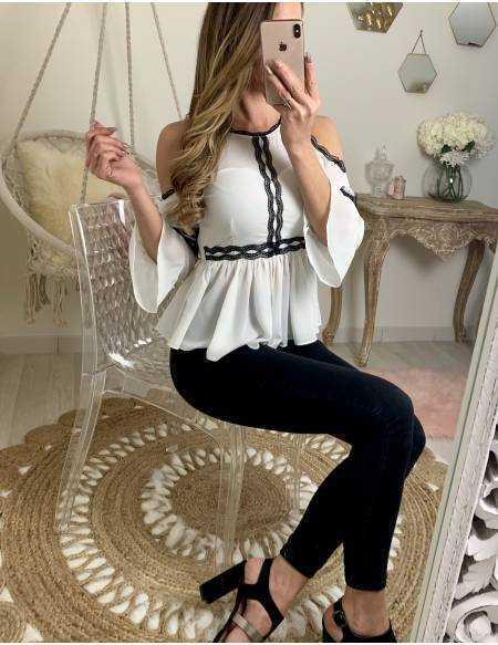 Ma jolie blouse blanche