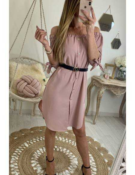 Ma jolie robe rose pâle