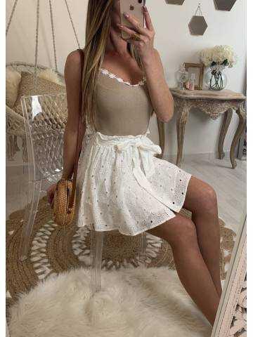 Ma jupe blanche