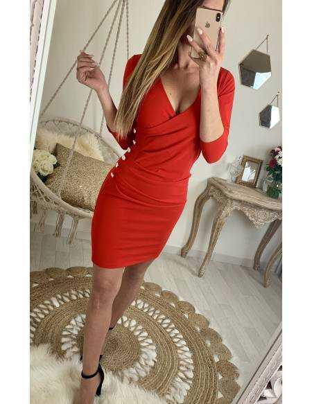 Ma superbe robe rouge