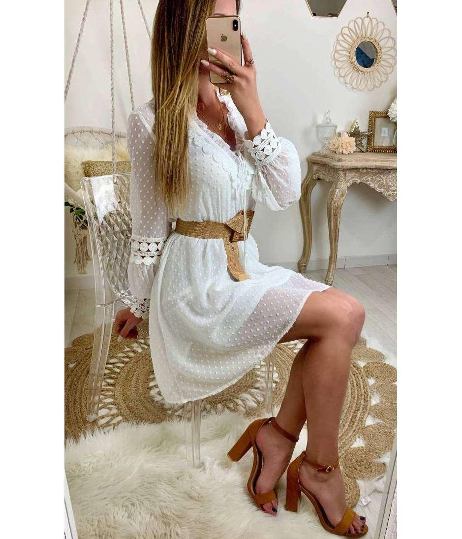 """Ma superbe robe longue """"boutonnée et imprimée"""""""