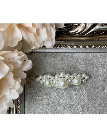 "Ma jolie barrette ""so pearls"""