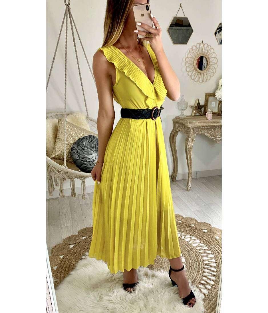 22d22f26a31 Ma jolie robe longue yellow