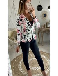 Mon blazer imprimé & fleuri