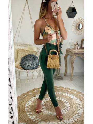 "Mon petit sac lune ""style bambou"""