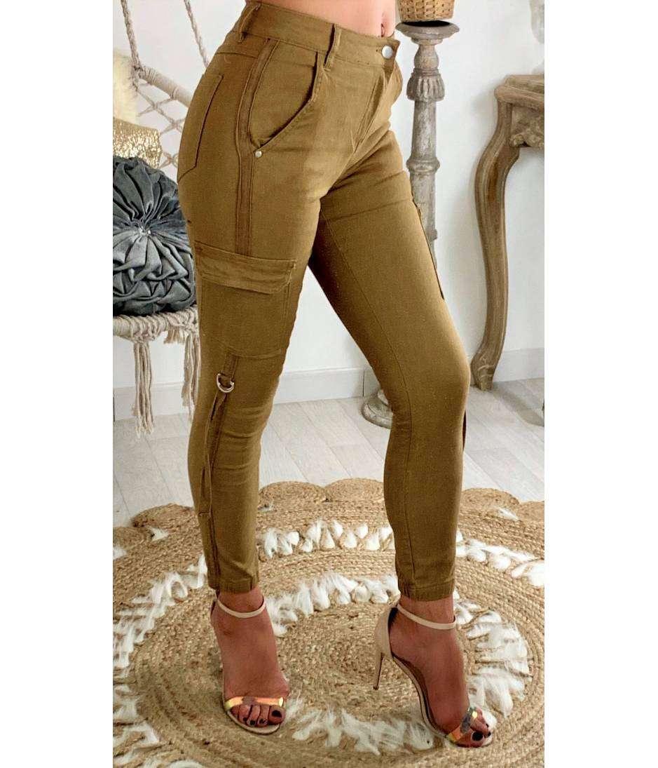 """Mon jeans camel """"Aventure"""""""