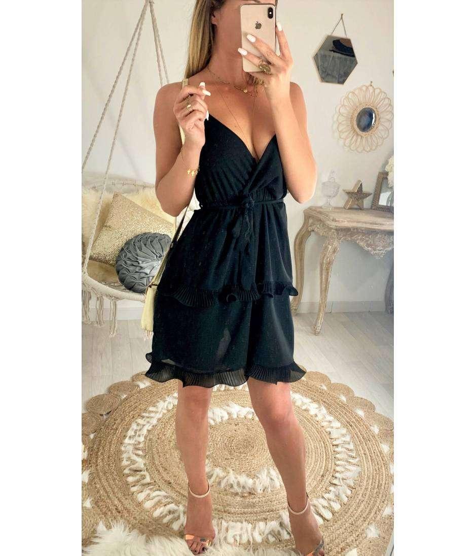 "Ma petite robe noire ""jolis volants"""