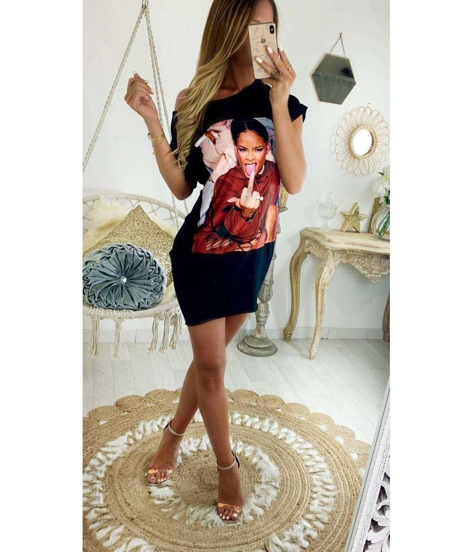 Ma robe tee shirt African girl