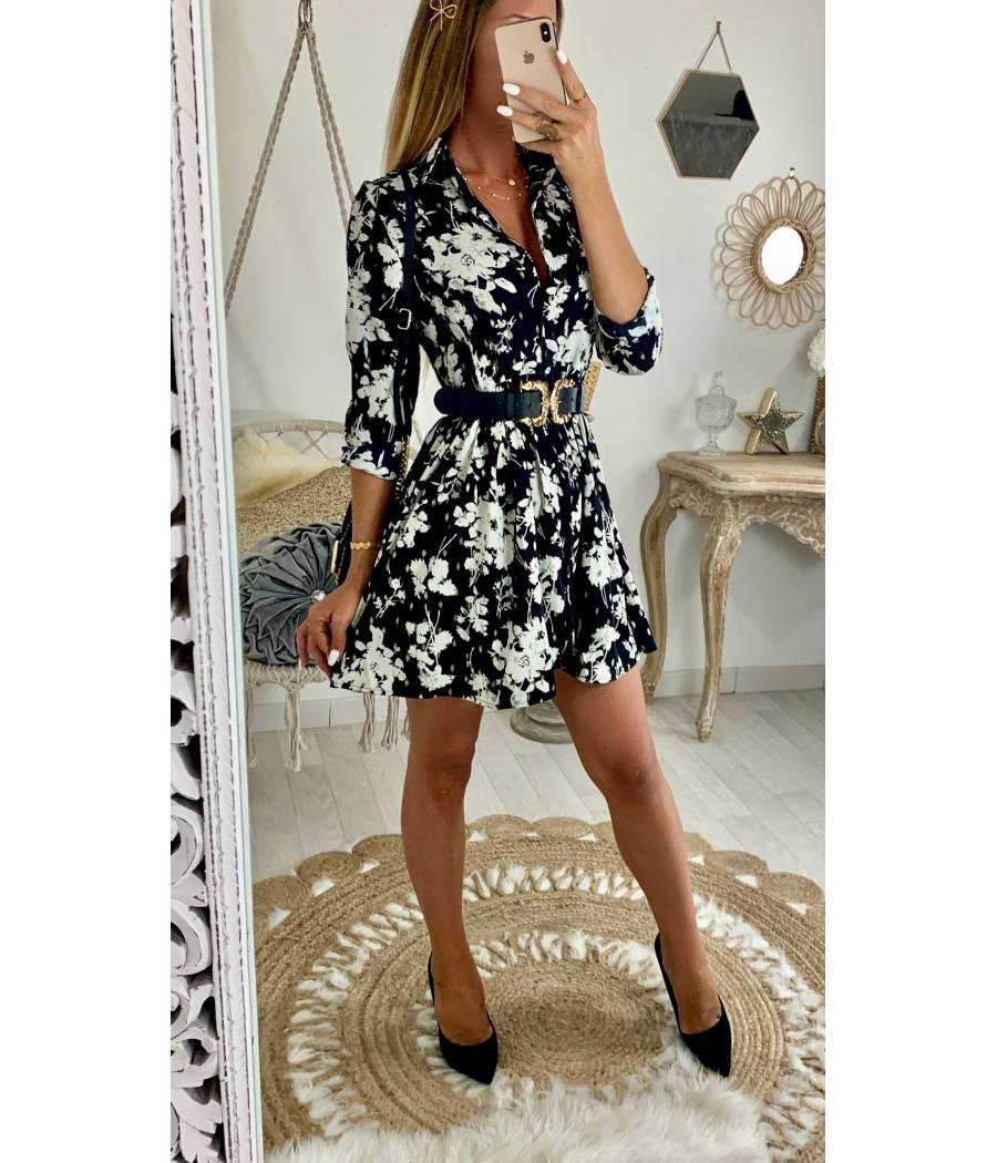"""Ma jolie robe ample """"flowers & gold"""""""