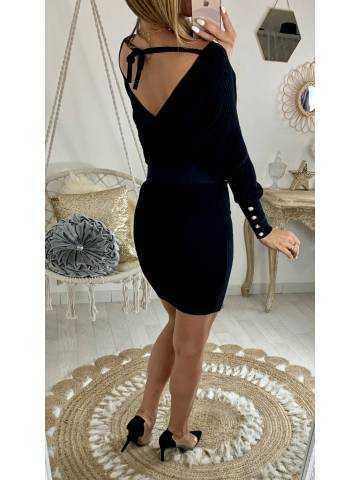 Ma robe en maille black
