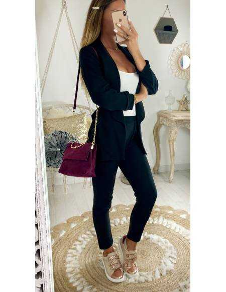 Mon ensemble pantalon/blazer black