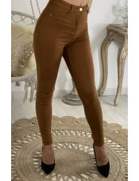 Mon jean camel basic taille haute
