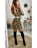 """Ma jolie robe imprimée """"Gold & Leaf"""""""