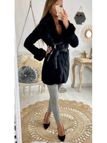 Mon superbe manteau black