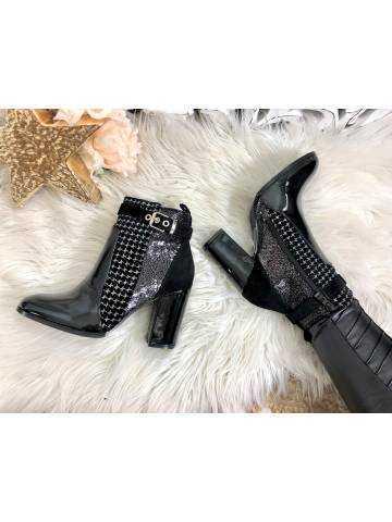 Mes jolie bottines black